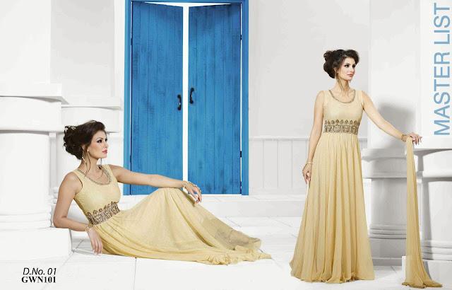 Buy Women Designer Net Gown – Wholesale Supplier
