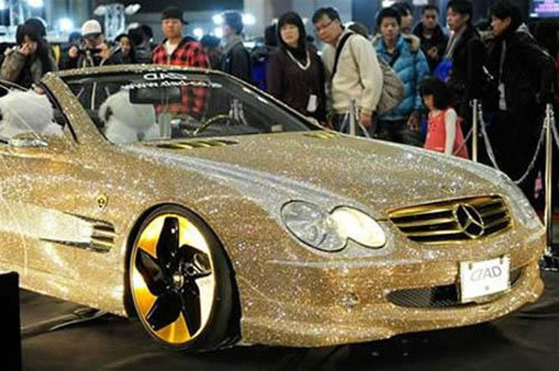 Dimond Car Amazing World First Diamond Cars