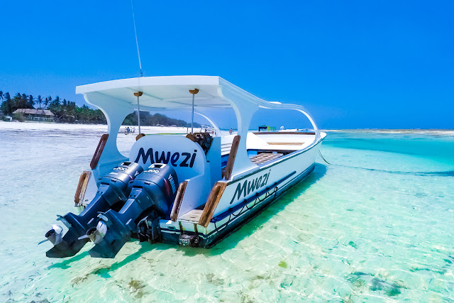 A dive boat in Diani Beach, Kenya - Winter Sun