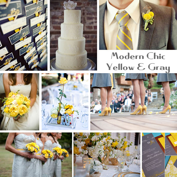 Yellow is best paired with neutral colors like black white and gray