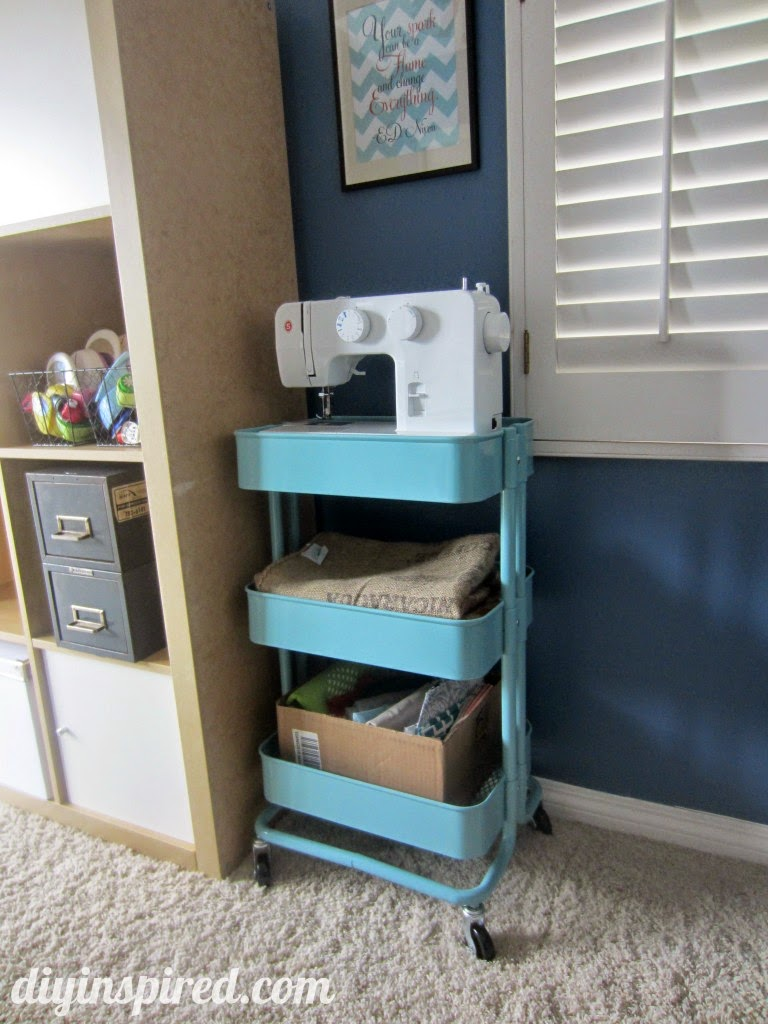 Ikea Kitchen Storage Cart Room To Sew
