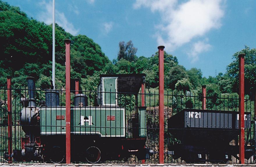 Locomotora Turón 3, foto de Ángel García Díaz