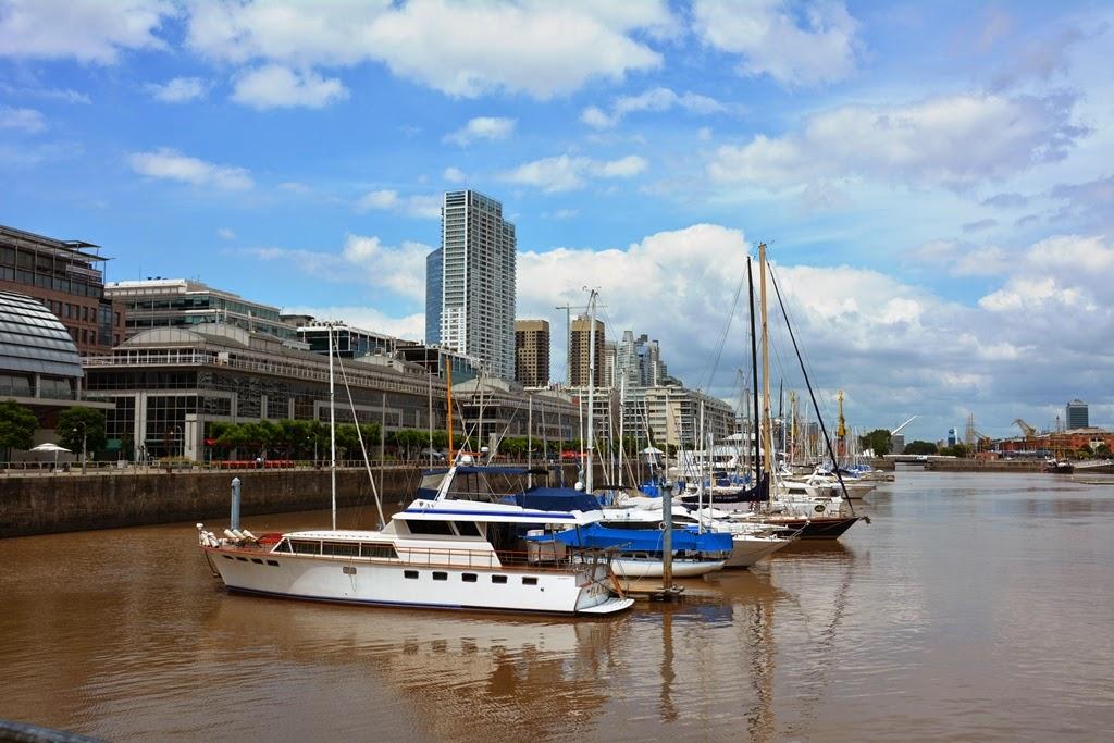 Puerto Madero Buenos Aires sailing boats
