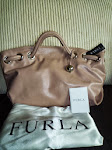 FURLA CARMEN M SHOPPER DUSTY ROSE
