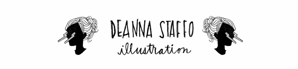 Deanna Staffo Illustration : Blog