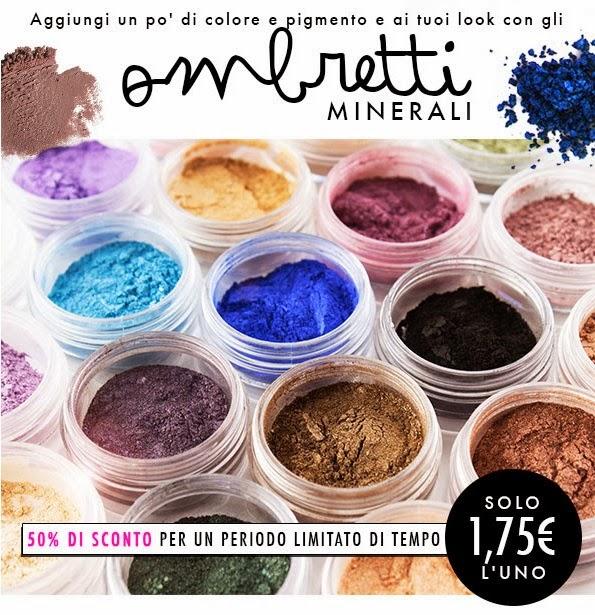 E.L.F. - Sconto 50% sugli ombretti minerali
