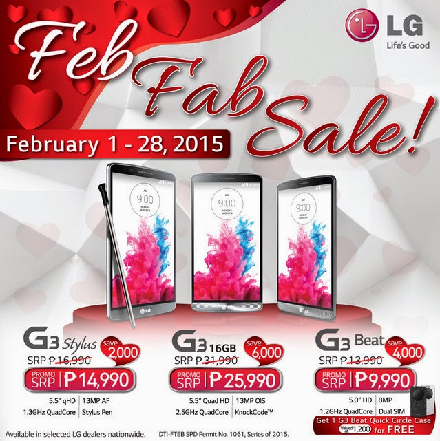 LG Philippines 2015 Smartphones