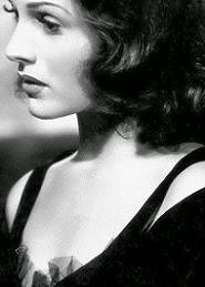 Rita, y su precioso perfil en blanco y negro