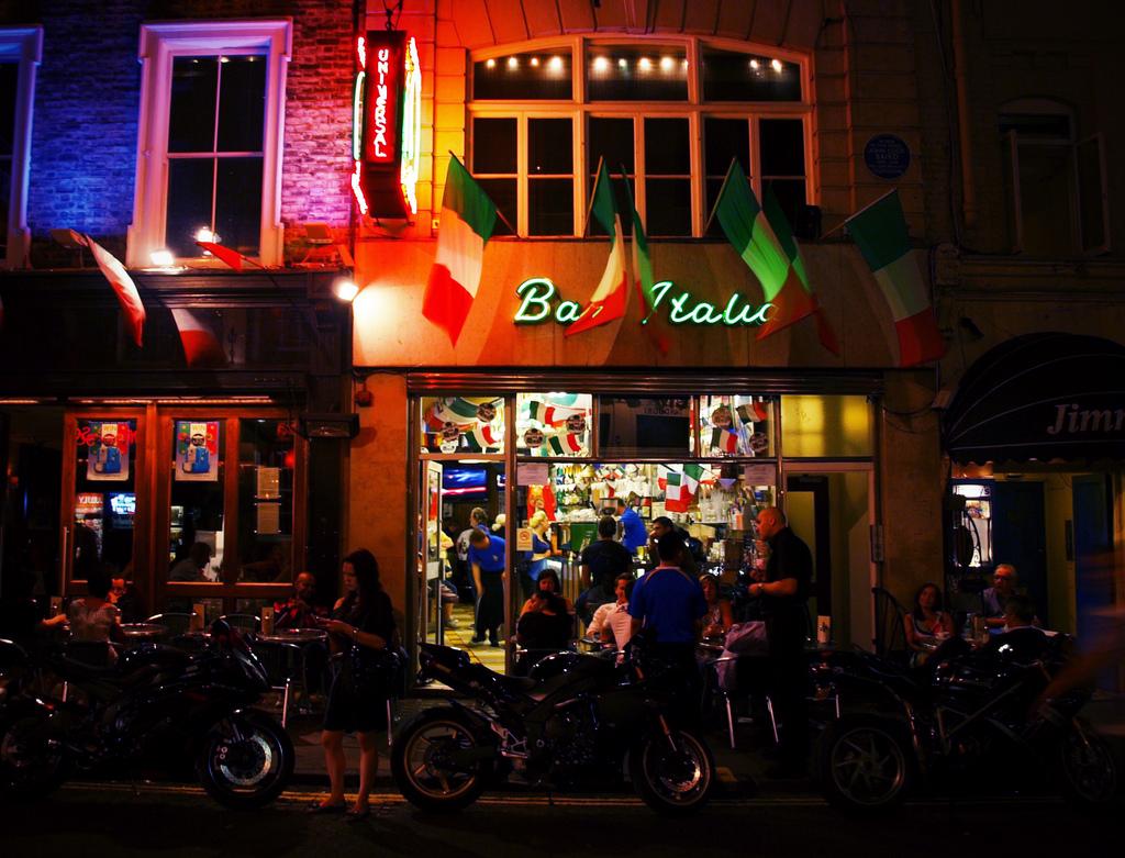 bar italia cafe in soho