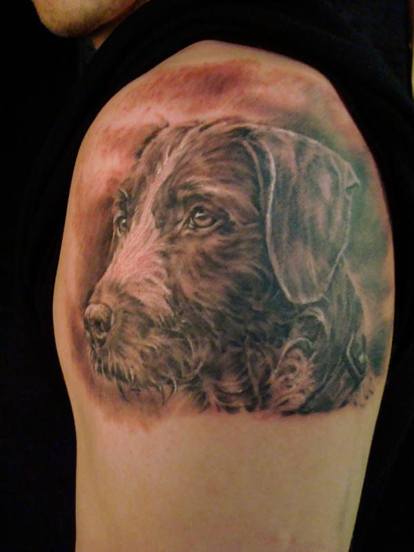 Dog Tattoo Portraitjpg