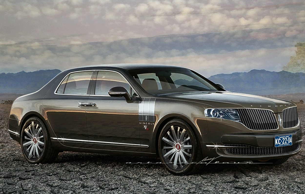2014 Lincoln Continental Concept Cars
