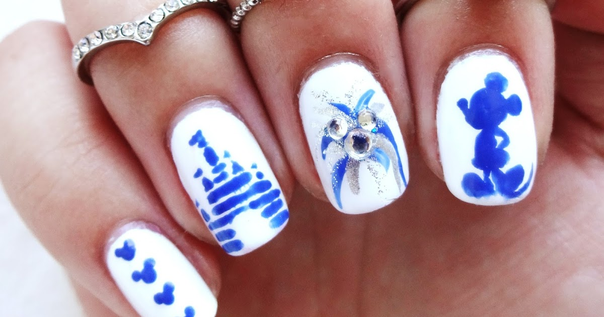 Disney Castle Nail Art | www.pixshark.com - Images ...