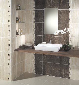 Bathroom tiles design interior design and deco for Bathroom ceramic tiles design