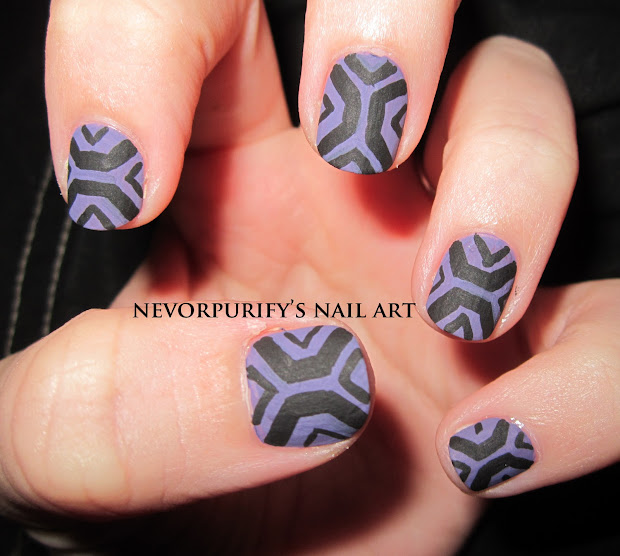aztec nevorpurify's nail art