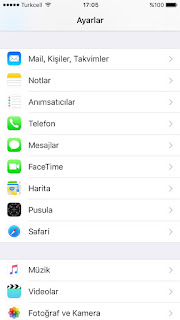 iPhoneda Yonlerdirme Nasil Yapilir ?
