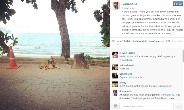 Ika Nabila Mengamuk Di Instagram
