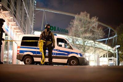terrorizmus, Németország, Hannover, terrorakció, Thomas de Maiziere, pokolgép, merénylet, HDI Arena,