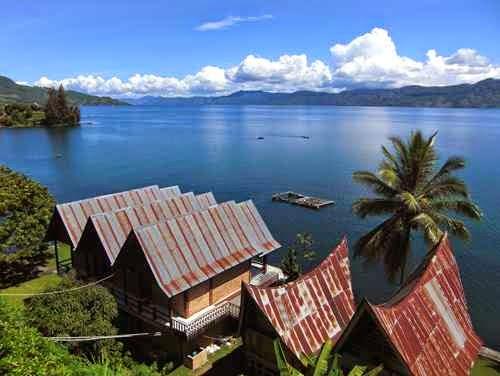 tempat wisata di danau toba yang indah