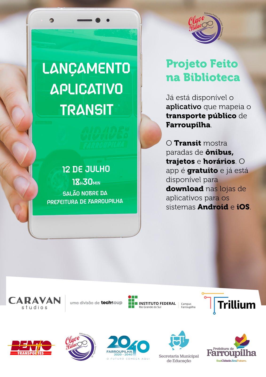 Lançamento APP transporte público