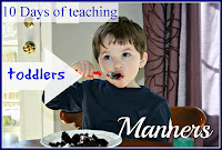 10 days of toddler manners loud and soft voices