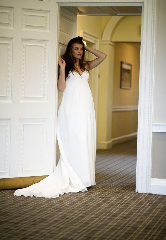 Simple Maternity Wedding Dresses