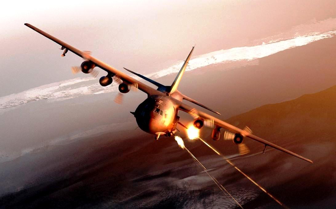 AC-130 Spectre Aircraft Wallpaper 4