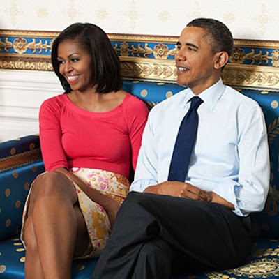 President Obama and Michelle in Ladies Home Journal