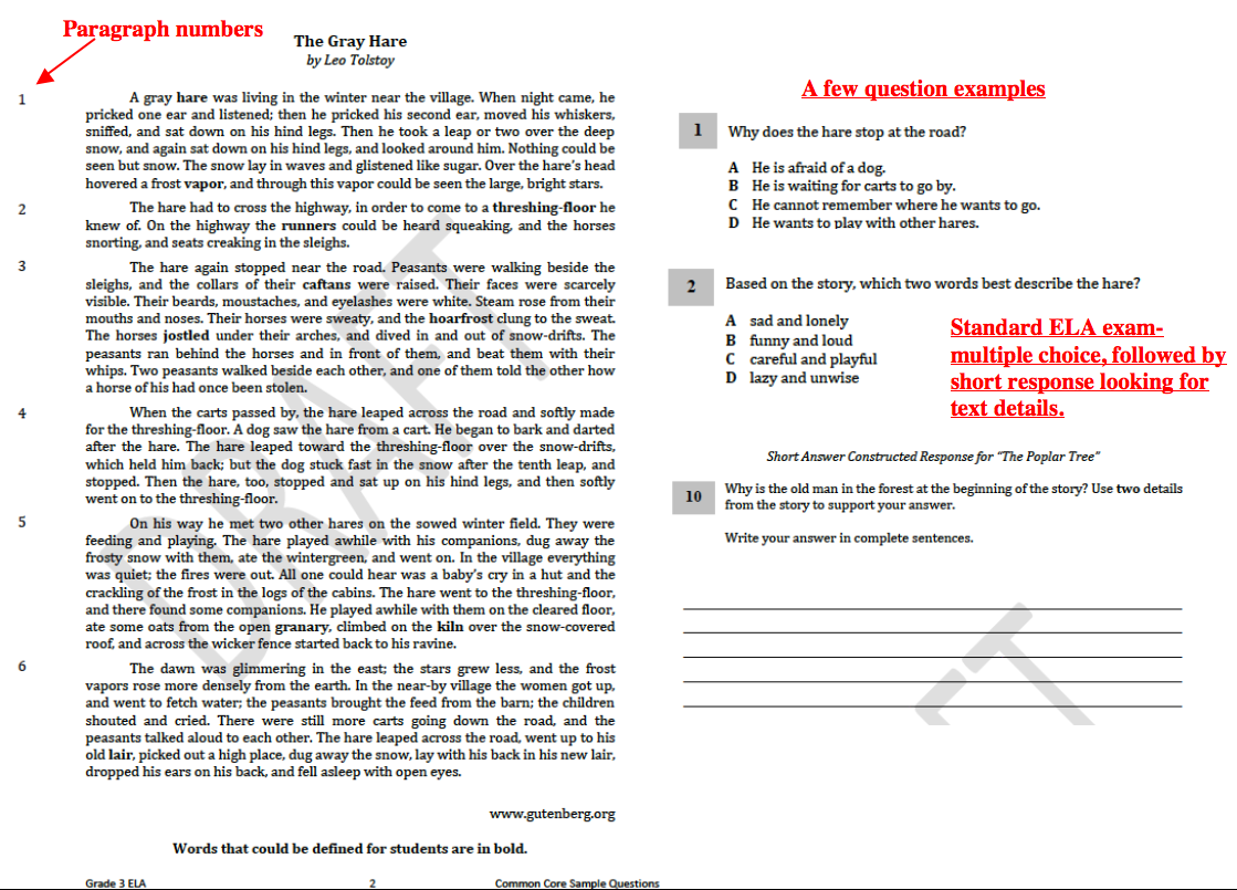 Missouri Education Watchdog 20130303 – Common Core English Worksheets