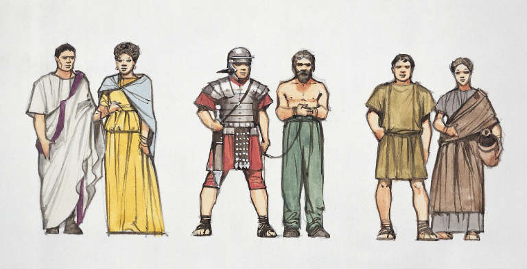 the fascinating traditions and social structure of the ancient romans The history of ancient egypt is full of theories and speculations about historic events,  but egypt has quite a few fascinating stories hidden behind its.