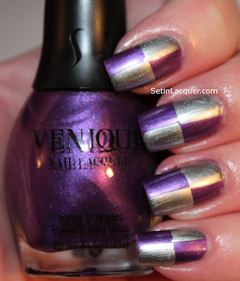 Venique Reels of Fun and Acting is Living nail art