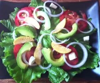 Receta Saludable Ensalada Verde