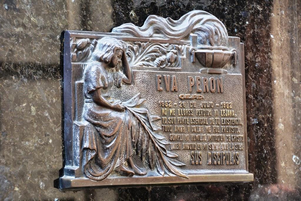 La Recoleta Cemetery Buenos Aires Eva Peron