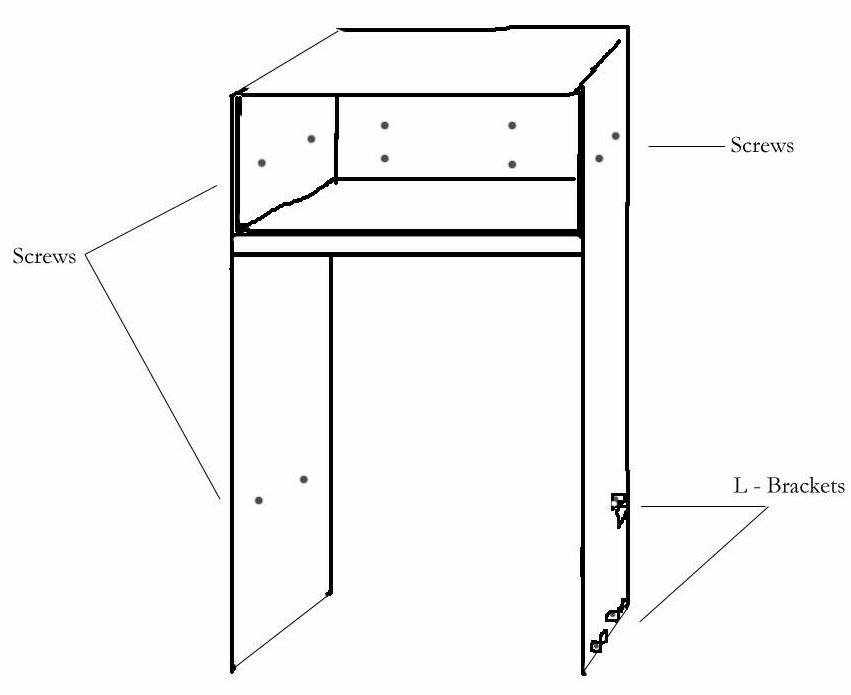 Building the refrigerator enclosure remodelando la casa for How to build a side by side