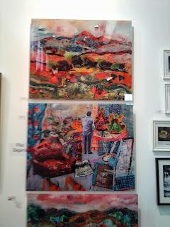 Estampa, 2013, Feria de arte, Exposiciones Madrid, Matadero, Blog de arte, Voa-Gallery, Yvonne Brochard, Sara Sagarra Moor, Galería Eka Moor,