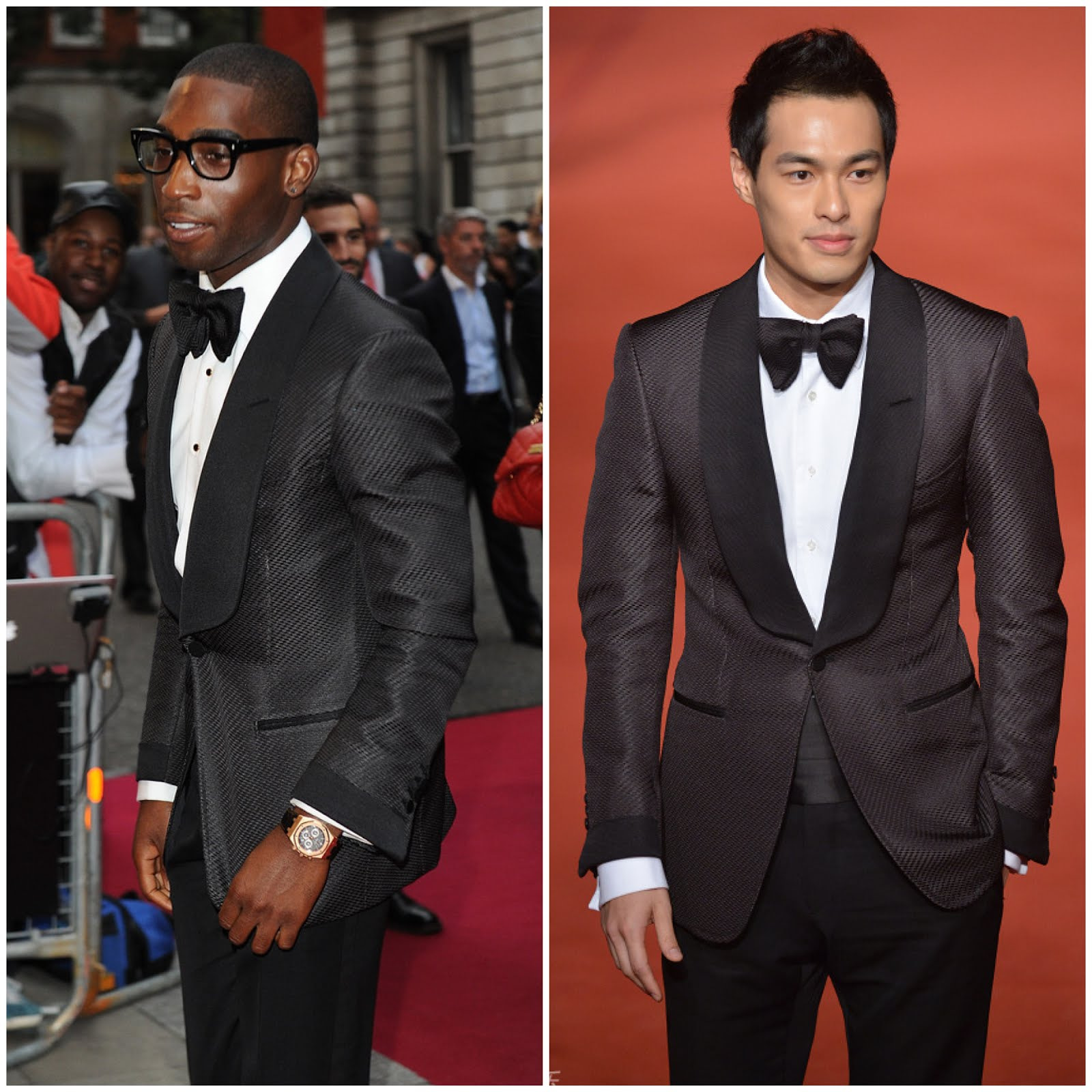 00O00 London Menswear Blog Who wore Tom Ford better, Tinie Tempah or Tony Yang?