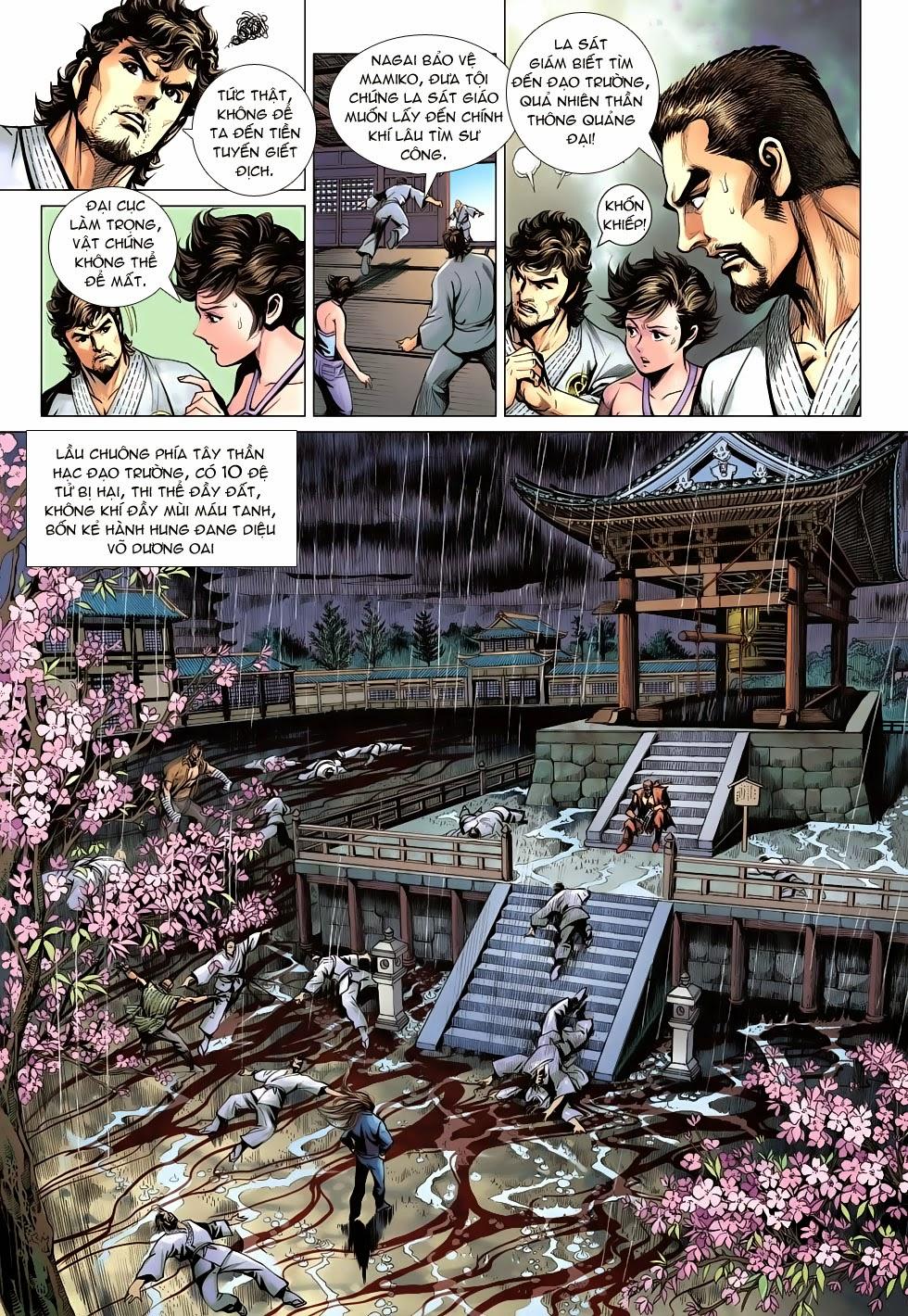 Tân Tác Long Hổ Môn chap 643 - Trang 9