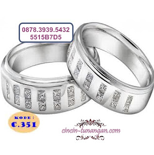 cincin pernikahan couple no 351