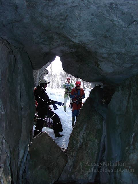 На входе в пещеру Грез