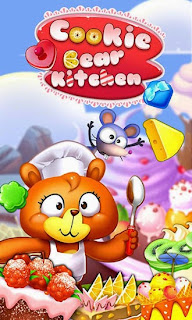 Screenshots of the Cookie bear kitchen for Android tablet, phone.