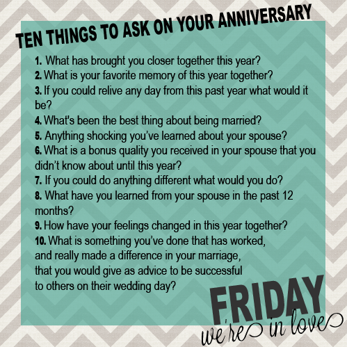 and evey relationship questions