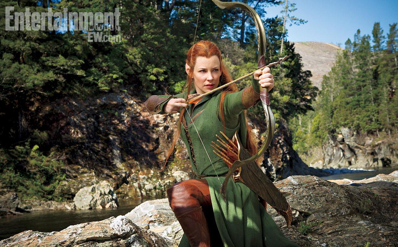 Primera imagen oficial de Evangeline Lilly como Tauriel en El Hobbit: La Desolación de Smaug