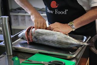 sfilettare pesce slow fish