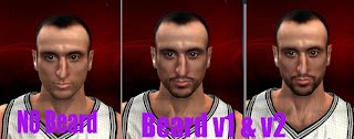 NBA 2K13 Manu Ginobili Cyber Face Mod