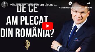 Mihai Neamțu 🔴 De ce-am plecat din România? Povestea mea