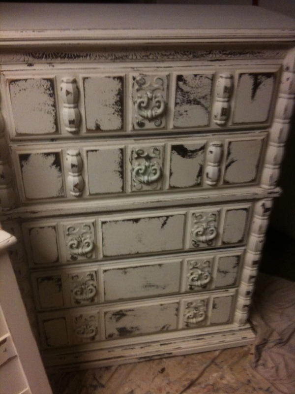 Distressed This Dresser A Lot More Than Usual I Love How It Turned