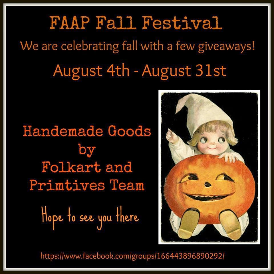 FAAP Fall festival on Facebook