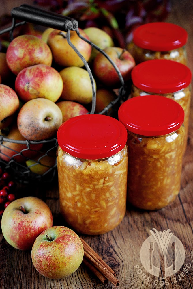 Prażone jabłka do szarlotki