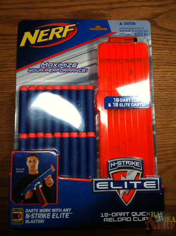 Bay Area Nerf New Elite 18 Round Magazine And Elite Darts