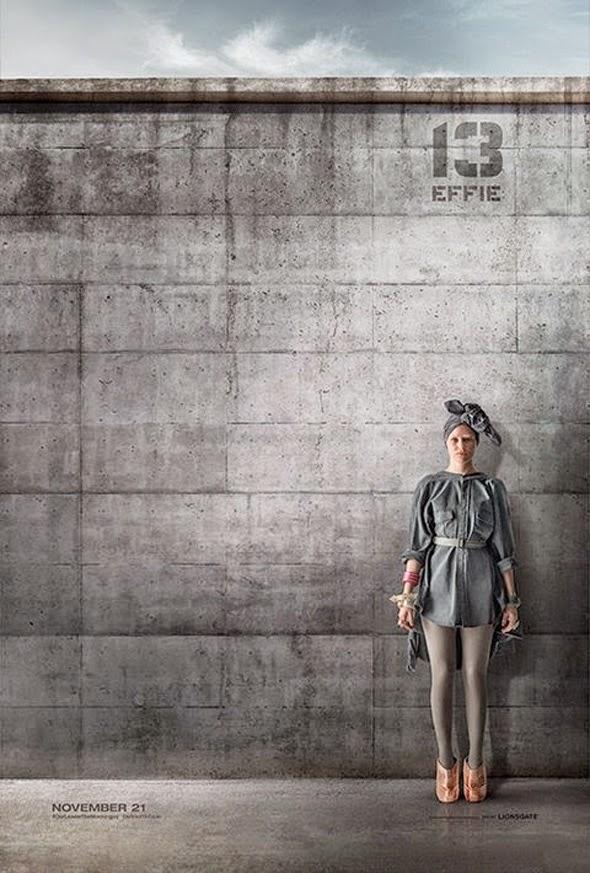Poster viral Distrito 13 para Juegos del Hambre: Sinsajo Parte 1 - Effie