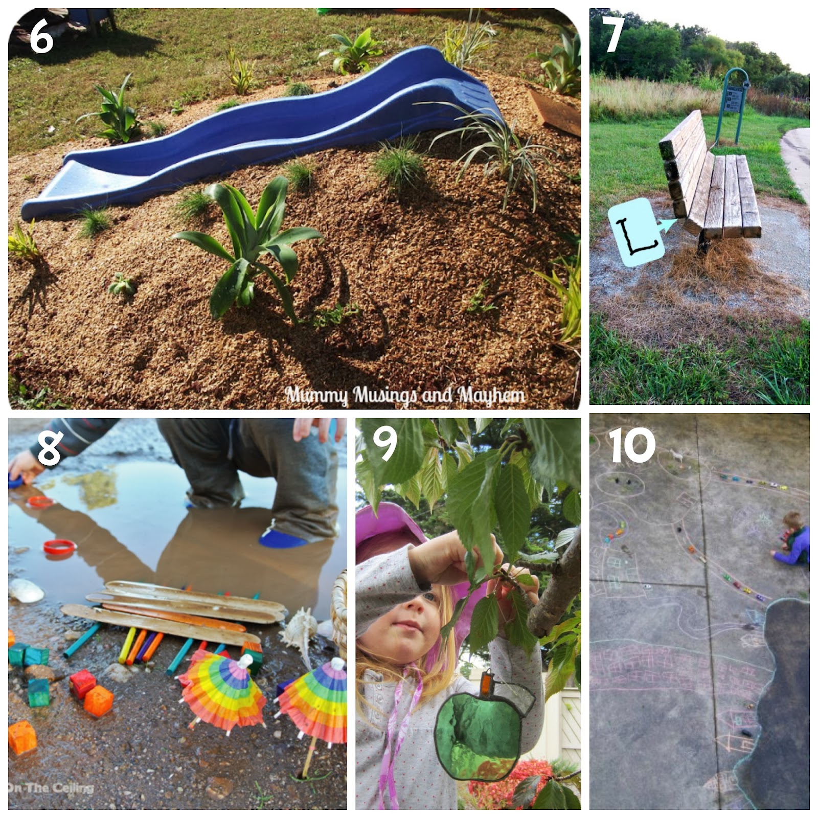 Home Daycare Backyard Ideas : Create your own super cool mound slide like Mummy Musings and